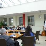 """Kleingruppenarbeit zum Thema """"Politische Bildung"""" mit Barbara Menke, ARBEIT UND LEBEN"""